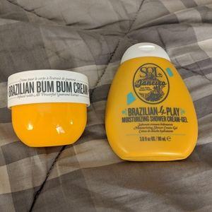 New Sol de jainero bum bum cream & shower gel